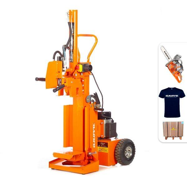 Astilladora de leña Anova RLT12VH 12Tn 3500W + Regalos