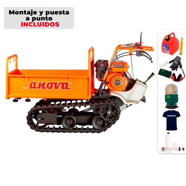 Carretilla oruga Anova OR7320 320Kg + Regalos