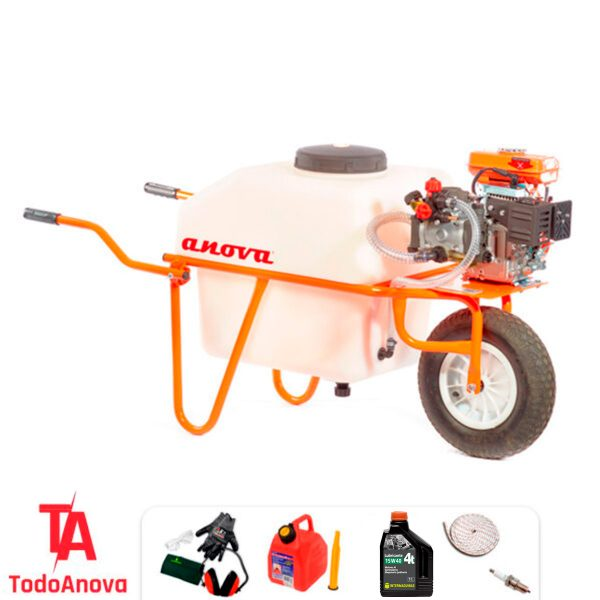 Carretilla sulfatadora 100 litros Anova P101 4T 79 cc