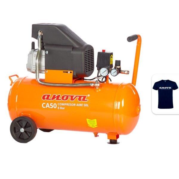 Compresor de aire Anova CA50 2HP 8Bar 50L