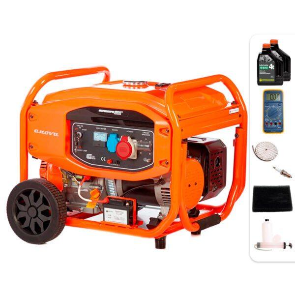 Generador eléctrico Anova GC7000TFE 7000W + Regalos