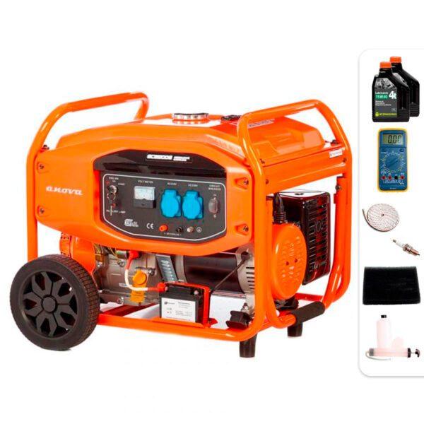 Generador eléctrico Anova GC8500E 8500W + Regalos