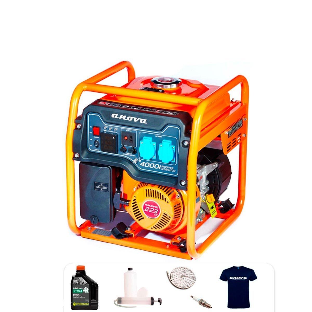 Generador eléctrico Inverter Anova GL4000