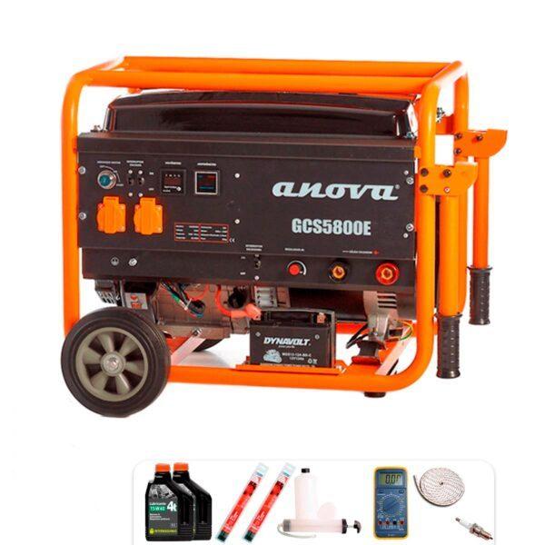 Motosoldadora 14HP 230V Anova GCS5800E + Regalos