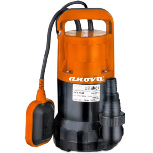 Bomba eléctrica sumergible aguas sucias Anova BE750AS 750W