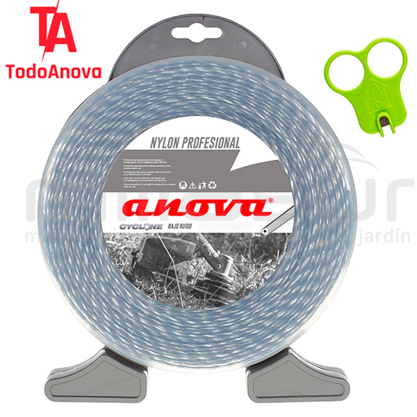 Dispensador nylon cyclone trenzado Anova
