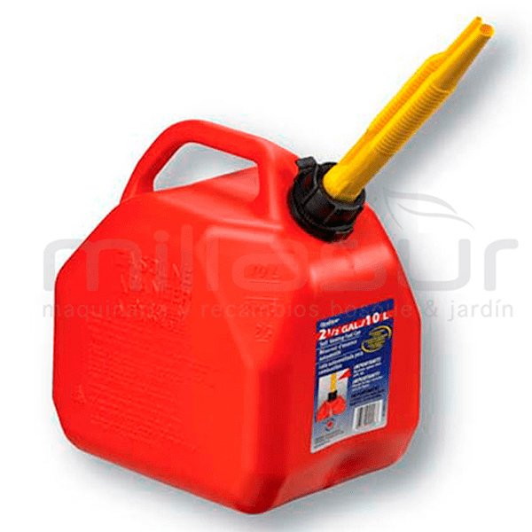 Garrafa 10 litros para gasolina