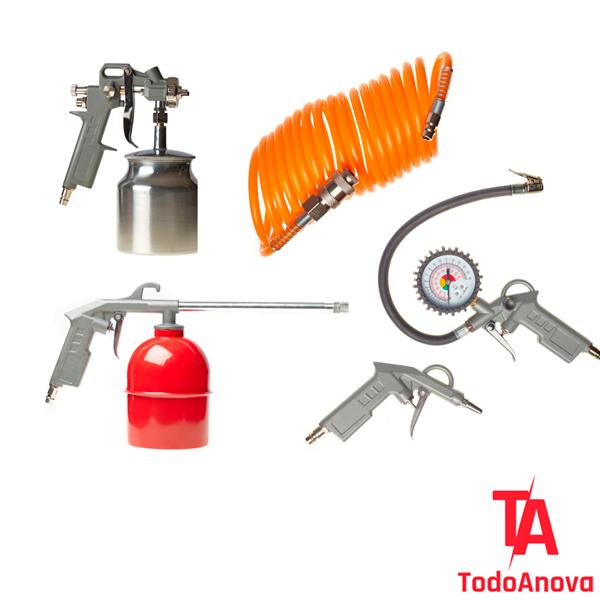 Kit accesorios para compresor de aire Anova CA001
