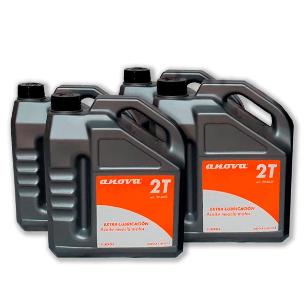 Pack de 4 aceites de mezcla de 5L