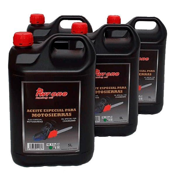Pack de 4 aceites engrase cadena motosierra