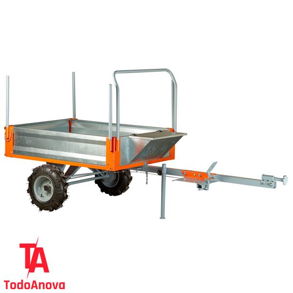 Remolque basculante para motoazadas Anova MC500-120 1