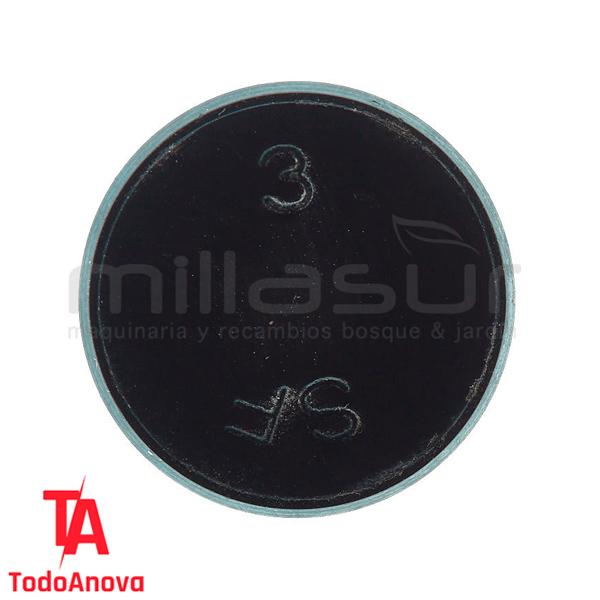 Tapón pequeño Motoazada Anova Mc507