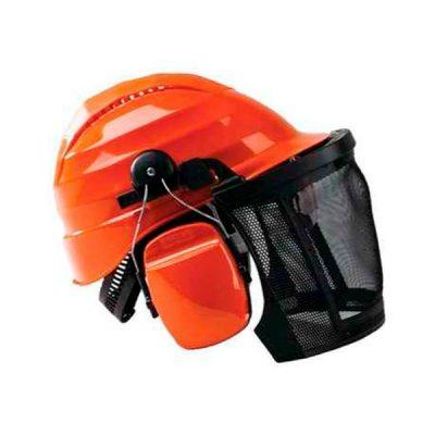 Casco Completo Protección Pro con Gafas