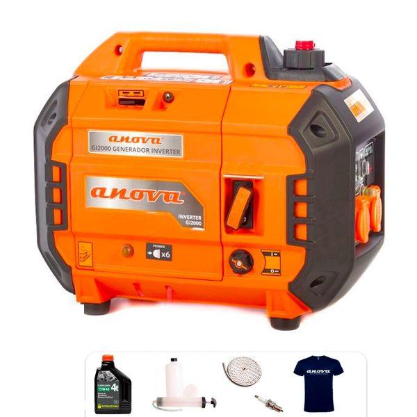 Generador eléctrico Inverter Anova GL2000 2000W